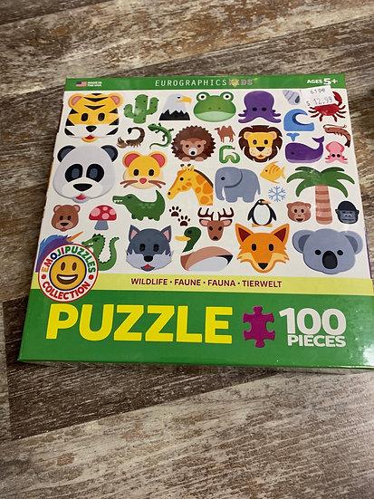 Wildlife- 100 pc Puzzle