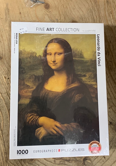 Mona Lisa 1000pc Eurographic