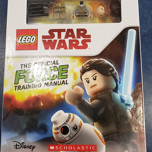 Lego Handbooks- Star Wars - The Official Force Training Manual