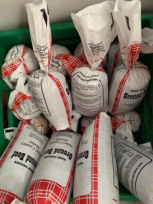 10lb  Bulk Buy  Hamburger (10 x 1lb packages)