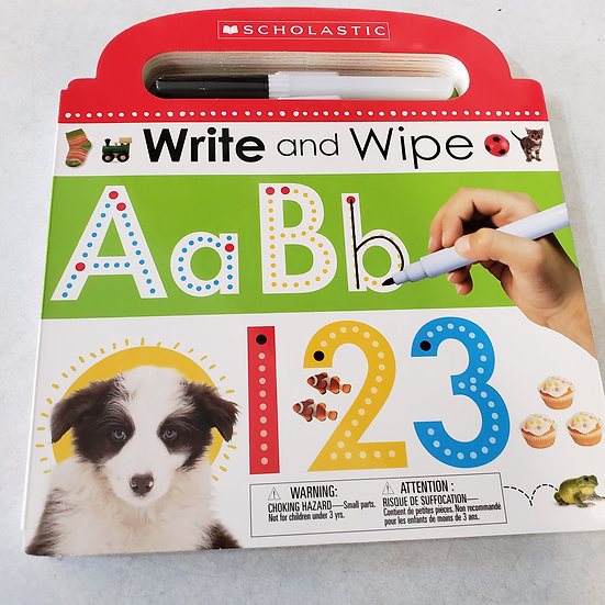 Write and Wipe  by Scholastic