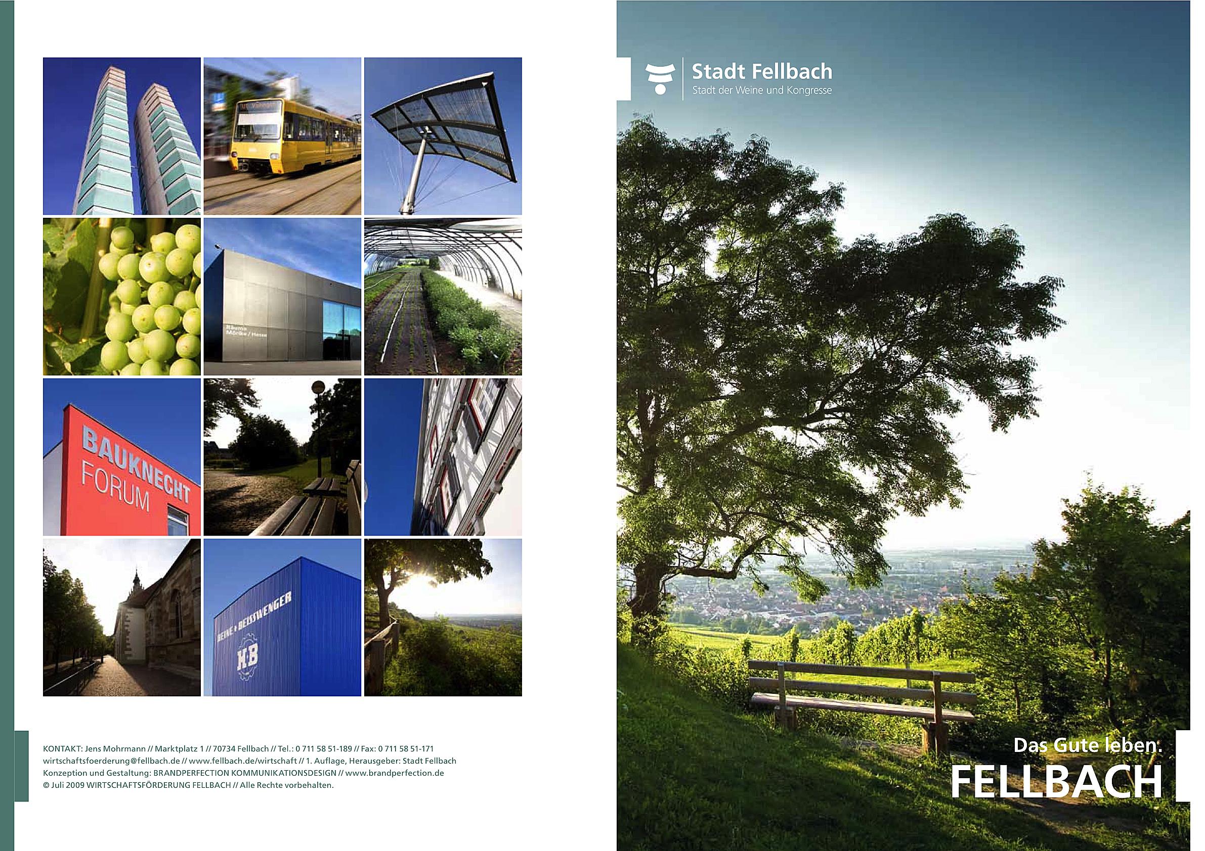 Imagebroschüre Fellbach