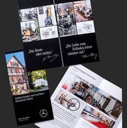 Mercedes Benz History Broschüre