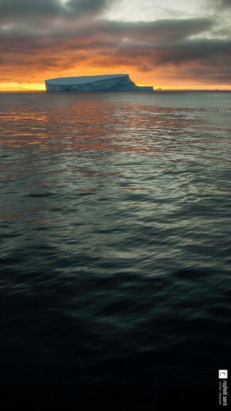 Iceberg du soir...