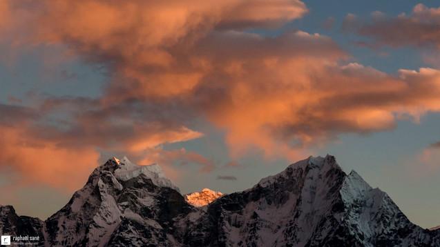 Coucher de montagne