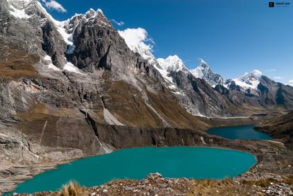 Lacs de la cordillère Huayhuash