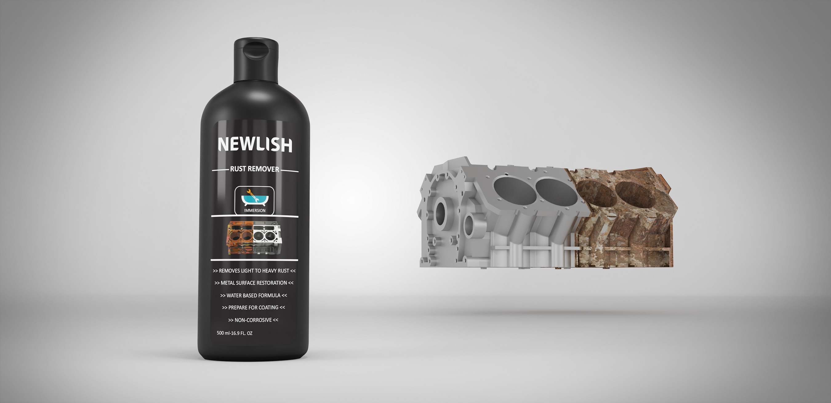 NEWLISH Rust Remover Immersion