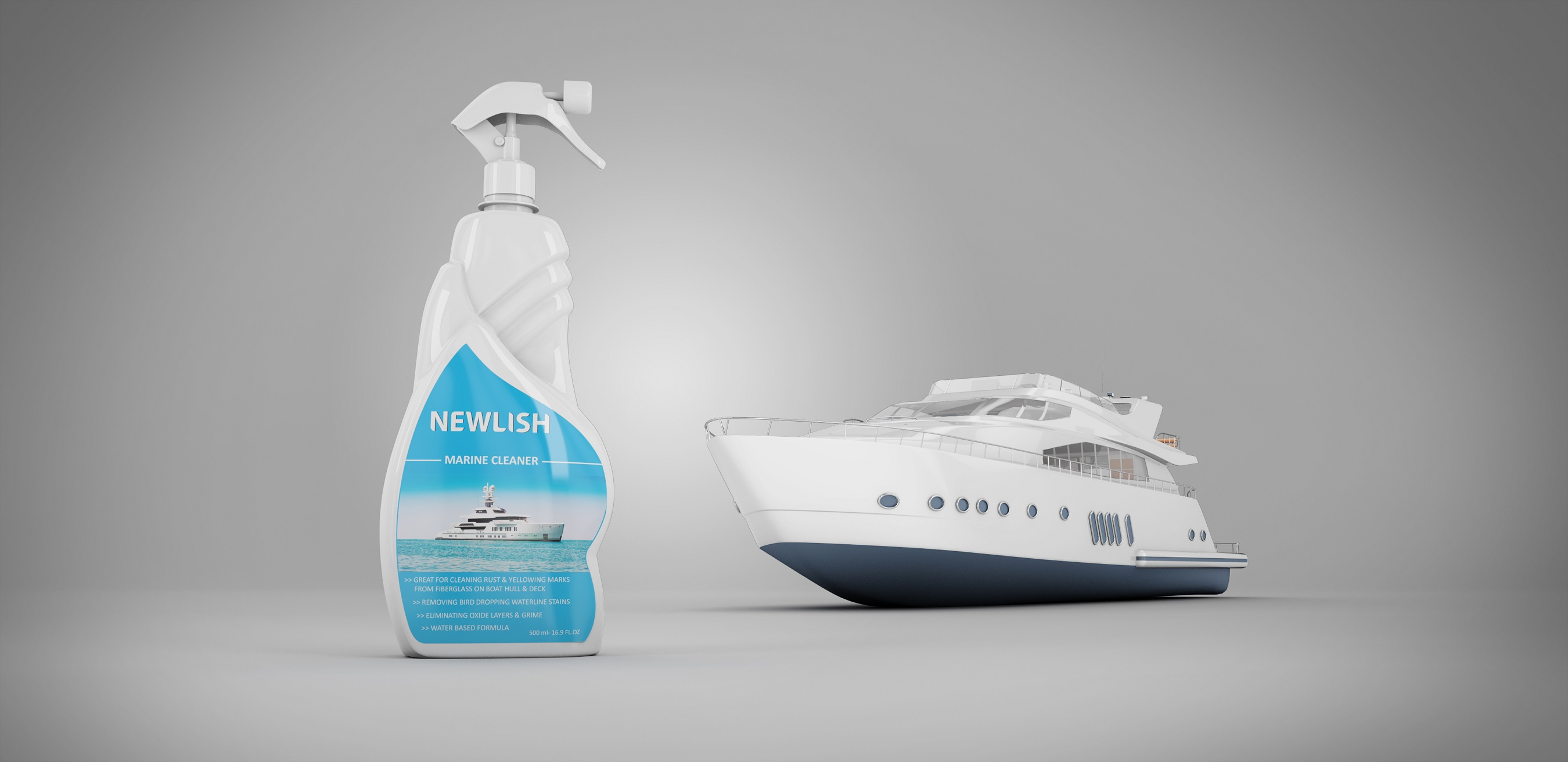 NEWLISH Marine Cleaner