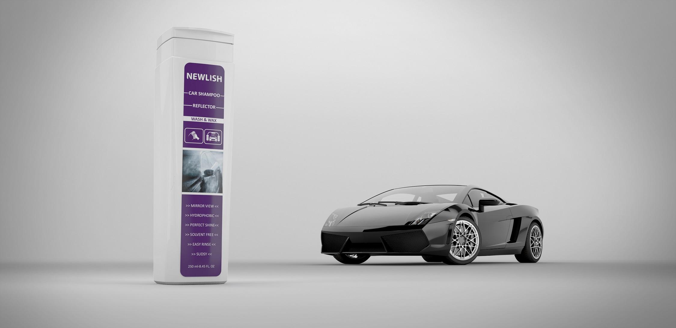 NEWLISH Car Shampoo Reflector Wash and W