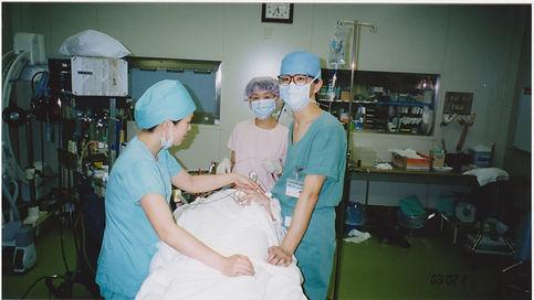 2003 横浜船員保険病院での最終手術.jpg
