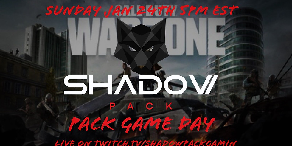 Shadow Pack Game Day