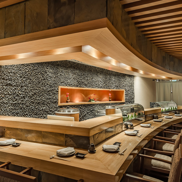 KiSara Japanese Restuarant Sushi Counter