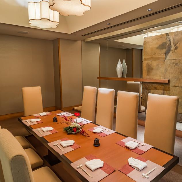 KiSara Japanese Restuarant Private Room.