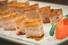 Crispy pork menu at Liu Restaurant