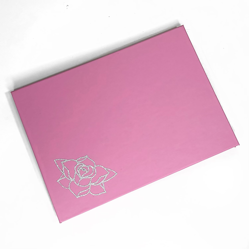 The Pastel Roses x RATART - Magnetic palette with mirror - Pastel Pink