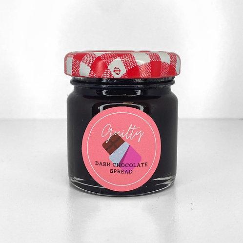 Guilty Cosmetics - Dark Chocolate Brow Spread (dark brown/black)