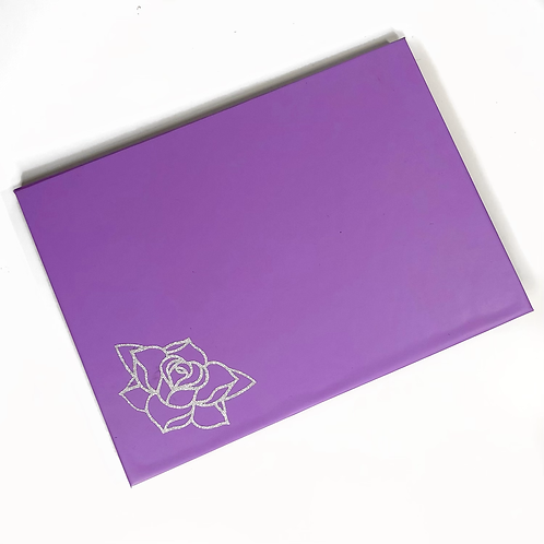 The Pastel Roses x RATART - Magnetic palette with mirror - Sweet Lavender