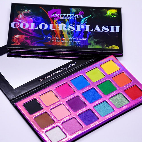 Arttitude - Coloursplash Eyeshadow Palette