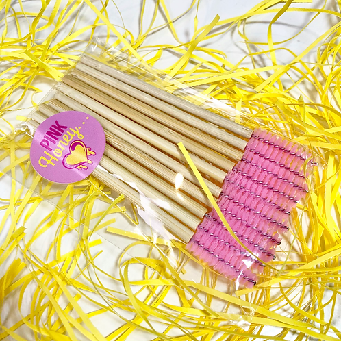 Pink Honey - 10x Bamboo Honey Dippers