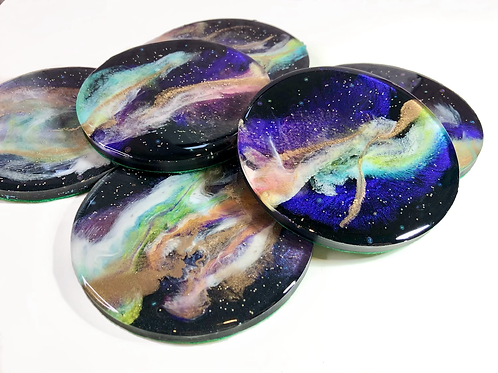 Titmouse - Deluxe Make-up Mixing Palette - 3D Galaxy
