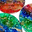 Thumbnail: Titmouse - Sea Glass Make-up Mixing Palette - Green-Blue-Red