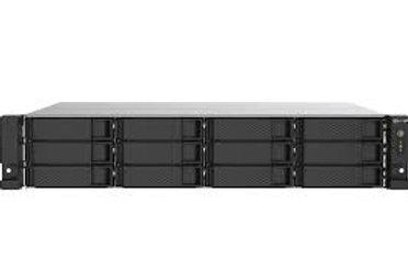 QNAP TS-1253DU-RP-4G-US NAS de 4 bahías, Intel Celeron J4125 Quad-Core, procesad