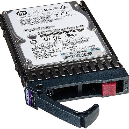 Disco Duro para Servidor HPE 450GB 6G SAS Hot Plug 10.000RPM SFF 2.5'', Enterpri