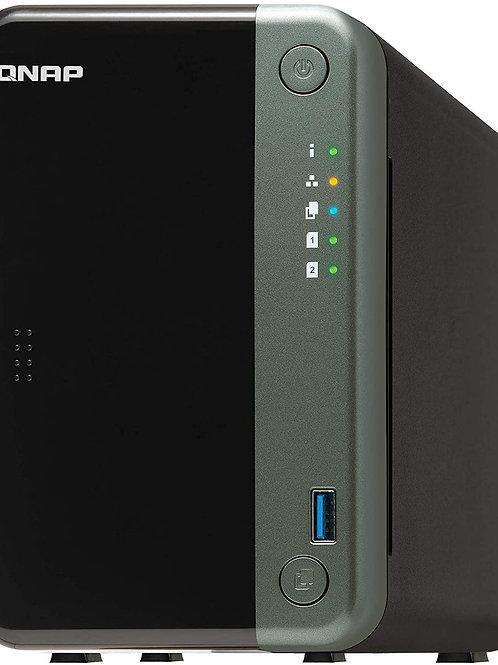 QNAP TS-253D-4G - NAS de 2 bahías para Profesionales con CPU Intel® Celeron® J41