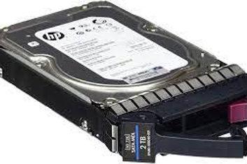 Disco Duro para Servidor HPE 2TB 3G SATA Hot Plug 7200RPM LFF 3.5'', Midline