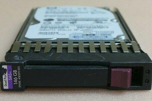 HP 146-GB 3G 10K 2.5 DP SAS