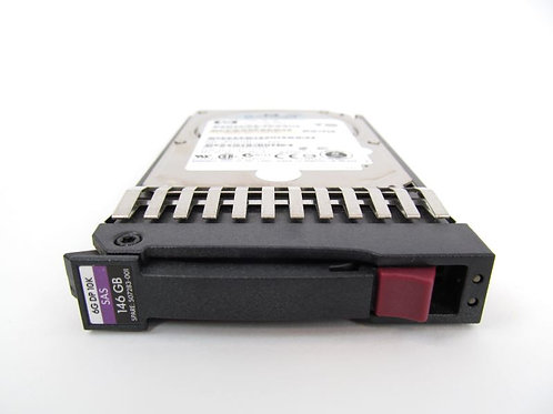 "Disco Duro Interno HP 507125-B21 2.5"", 146GB, SAS, 10000RPM Hot Plug"