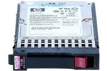 HP HDD 72GB 15K 3G SAS