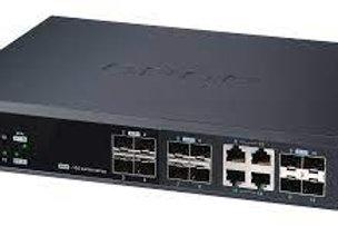 QNAP QSW-M1204-4C - Conmutador gestionado (10 GbE, combo SFP+/RJ45 de 4 puertos