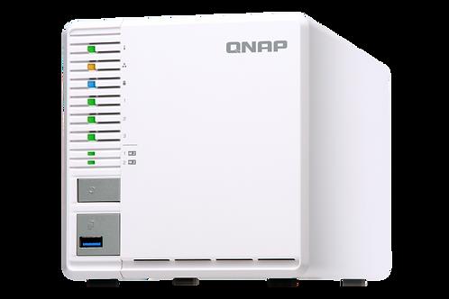 QNAP TS-351 NAS Personal de 3 bahías, ideal para almacenamiento RAID5. Intel Cel