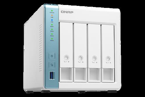 QNAP TS-431P3-2G 4 Bay NAS, Annapurna Labs AL314 Quad-core 1.7GHz con 2GB RAM y