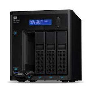Western Digital WD My Cloud PR4100 NAS de 4 Bahías, 0TB, Intel Pentium N3710 1.6