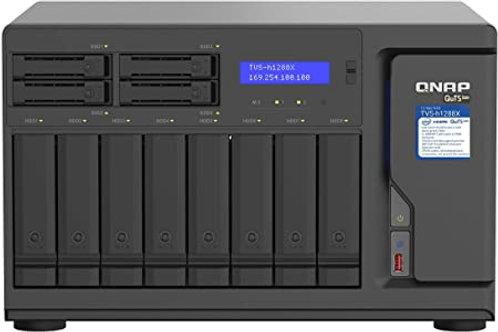 NAS multimedia de alta velocidad TVS-h1288X-W1250-16G de QNAP con CPU Intel Xeon