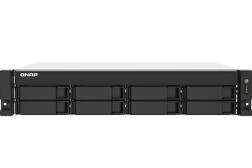 QNAP TS-873AU-RP-4G-US 8-Bay NAS AMD Ryzen V1500B Quad-core Processor, 4GB RAM,