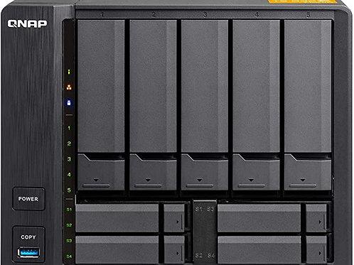 QNAP TS-932PX NAS de 64 bits con 5 (+4) bahías con cifrado de Hardware, Cuatro n