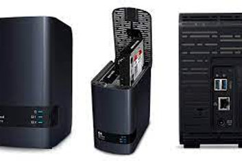 Western Digital WD My Cloud EX2 Ultra NAS de 2 Bahías Hot Swap, 4TB, Marvell Arm