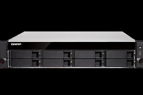 QNAP TS-883XU-RP-E2124-8G-US 8-Bay 2U Rackmount NAS Intel Xeon E-2124 Quad-Core