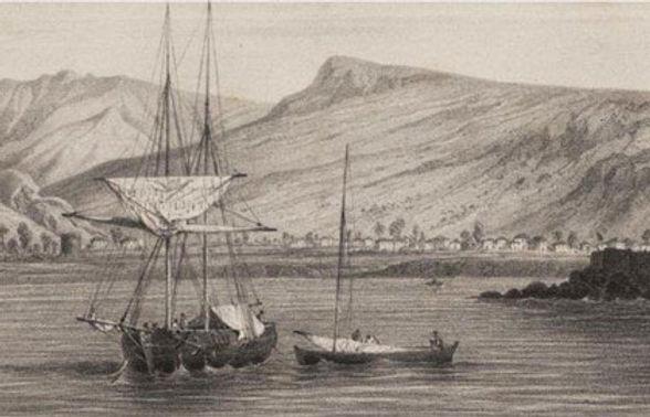 Ilustración del puerto de San Sebastián