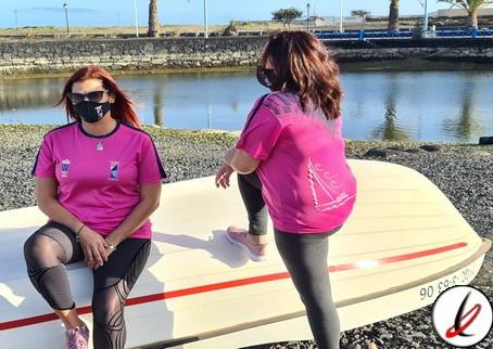 La Federación Canaria de Barquillos de Vela Latina homenajea a la mujer regatista