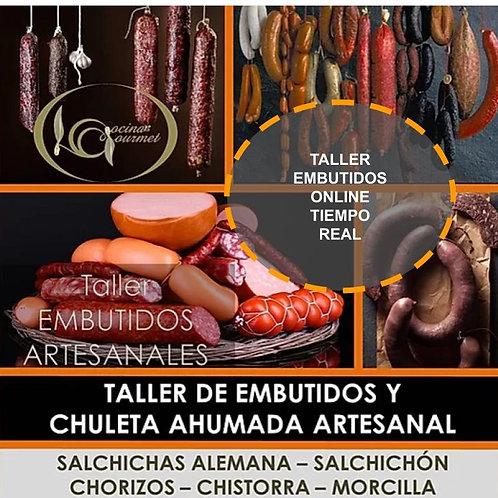 TALLER ON-LINE @ EMBUTIDOS ARTESANALES EN TIEMPO REAL