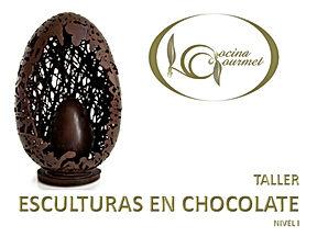 CARTEL ESCULTURAS EN CHOCOLATE NIVEL I.j