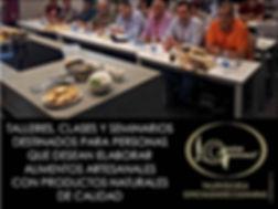 talleres, class y seminarios