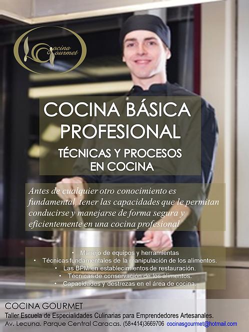 COCINA TÉCNICA  PROFESIONAL