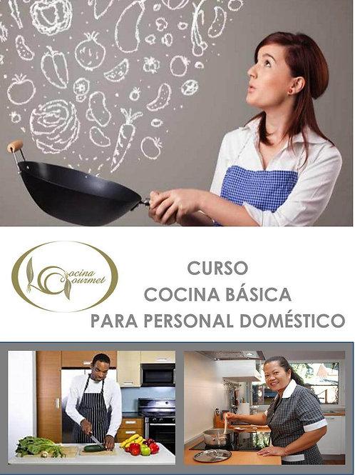 CURSO DE COCINA BÁSICA PARA PERSONAL DOMÉSTICO