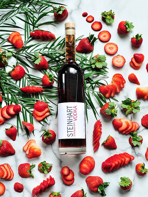 Strawberry Vodka 750ml