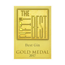 The Fifty Best 2017 - Best Gin Gold Meda
